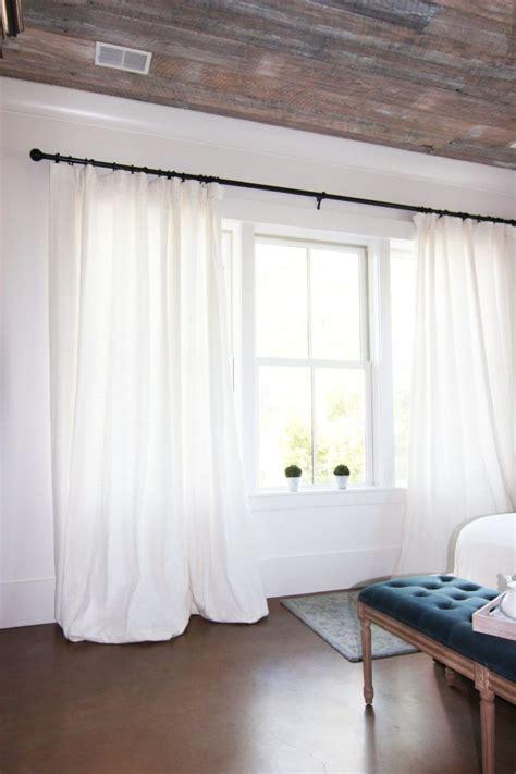 create insanely beautiful drapes  puddling  diy