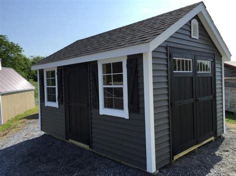 shed of grey custom buildings jono hardware jonestown pa