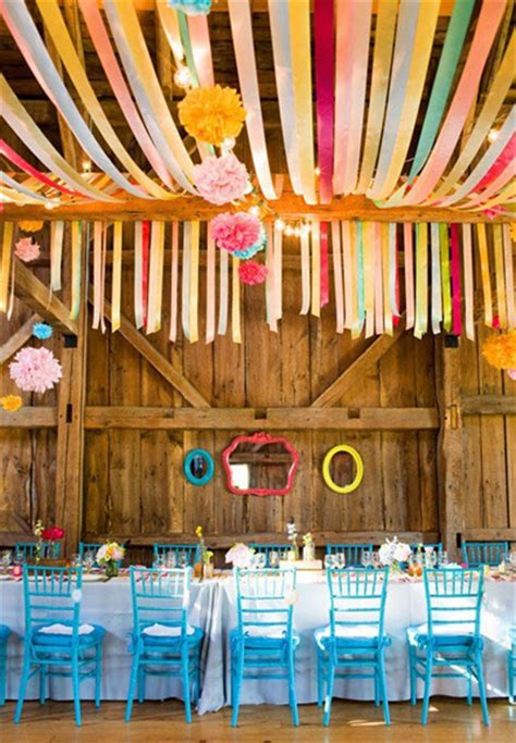 five fresh ideas for using ribbon streamers at your