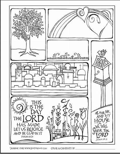 Coloring Bible Fink Joann Freebie Questions Zenspirations