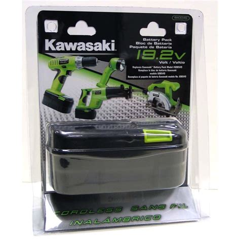 Kawasaki 19 2v Battery Charger by Kawasaki 19 2v Heavy Duty Slide On Replacement Battery