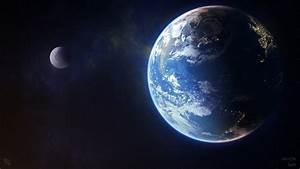Galaxy Earth Planet