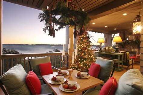 christmas patio decorating southern living house by carithers flowers voted best florist atlanta