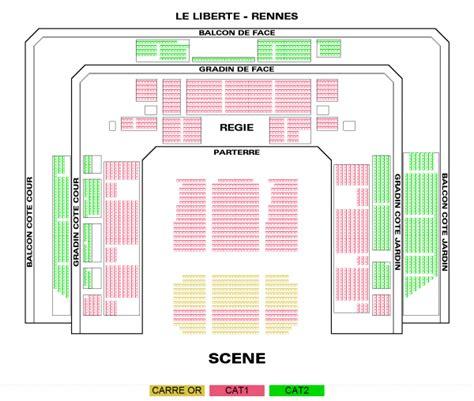 plan salle le liberte rennes messmer le liberte rennes rennes le 15 f 233 vr 2018 spectacle et comedie musicale