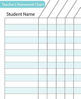 assignment tracker   basics teacher resources