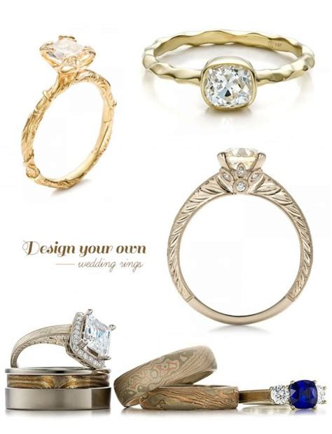 engagement rings design your own design your own wedding ring with joseph jewelry weddbook