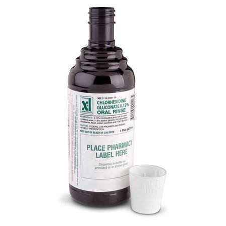 Chlorhexidine Gluconate Chlorhexidine Gluconate 0 12 Oral Rinse Case Practicon
