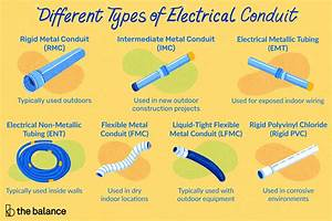 7 Types Of Electrical Conduit