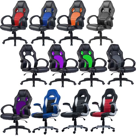 Car Armchair by Office Chair Racing Sports Car Seat Gaming Armchair