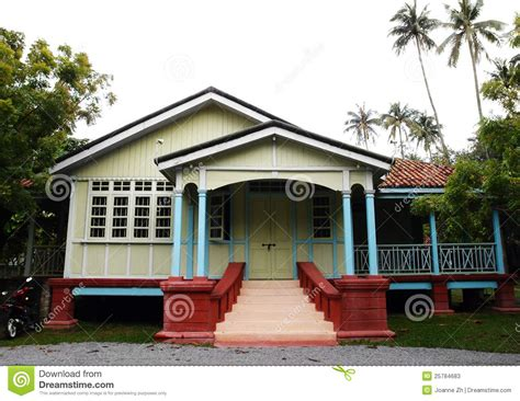 Ethnic House Of Malacca, Malaysia Stock Photos