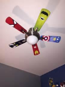 superhero ceiling fan blades kids room superhero room