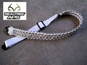 Realtree APS Snow Camo Dual Point Adjustable Paracord ...