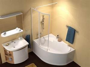 Badewanne 200 X 120 : raumspar wanne mit sch rze 150 x 105 cm und duschbereich ~ Bigdaddyawards.com Haus und Dekorationen