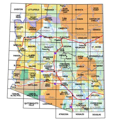 az bureau buy and find arizona maps bureau of land management
