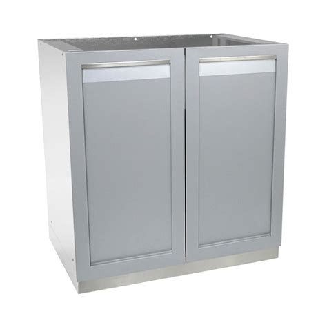 stainless steel outdoor kitchen cabinets 4 outdoor stainless steel assembled 32x35x24 in