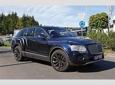 2016 Bentley Bentayga SUV Spotted Nearly Camo Free