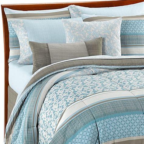 light blue and grey bedding othello 10 piece california king comforter set bed bath