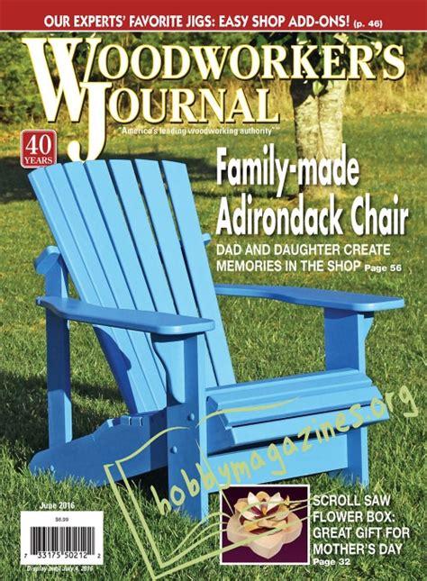 woodworking journal june  ofwoodworking