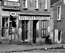 Slave Market in Atlanta Georgia in 1864  Slavery In The South