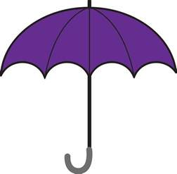 baby shower things clipart open umbrella