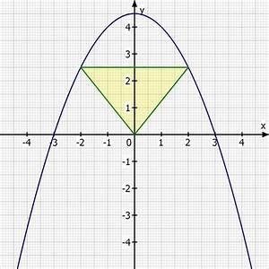 Fläche Unter Parabel Berechnen : einer parabel wird ein dreieck einbeschrieben sodass der fl cheninhalt maximal wird mathelounge ~ Themetempest.com Abrechnung