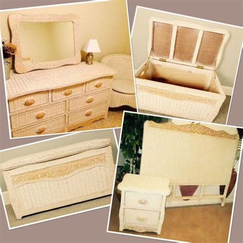 pier  imports wicker jamaica collection bedroom furniture