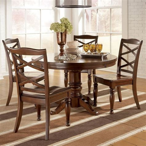 porter dining room set  oval table millennium