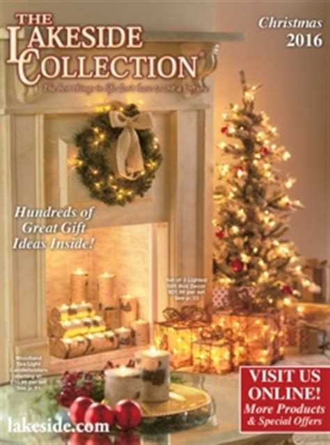 christmas ideas catalogues the lakeside collection unique gifts home furnishings gift catalog bedding
