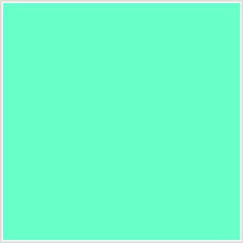 aquamarine color 69ffca hex color rgb 105 255 202 aquamarine green