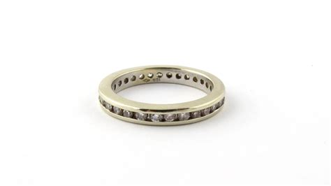Get the best deals on women's diamond yellow gold wedding & anniversary bands. Vintage 18K Yellow Gold and Diamond Wedding Band Size 8 ...