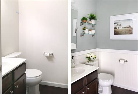 Powder Room Makeover  How To Nest For Less™