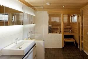 Badezimmer Mit Sauna : badezimmer kleine sauna weisse fliesen dusche glas ~ A.2002-acura-tl-radio.info Haus und Dekorationen