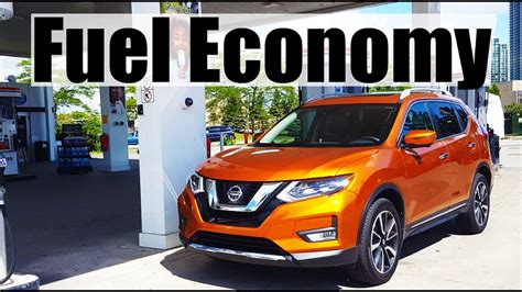 nissan  trailrogue fuel economy mpg review fill