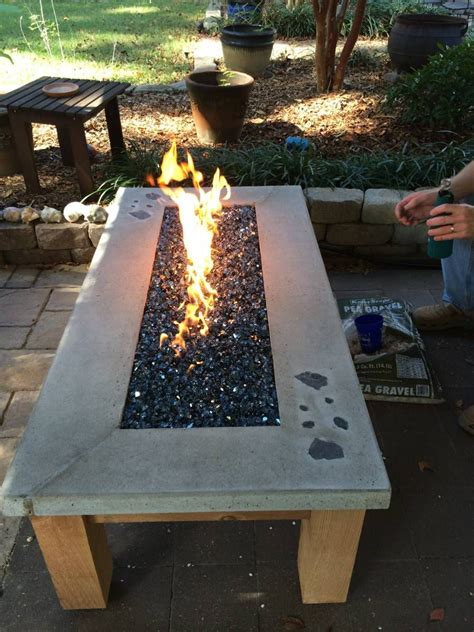 Build Your Own Gas Fire Table Www Easyfirepits Com