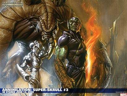 Skrull Super Annihilation Marvel Comics Wallpapers 2006