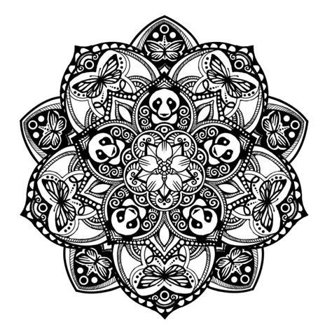 panda mandala tattoodocom tatoo mandala tattoo