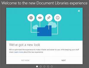 sharepoint marc d anderson39s blog page 4 With new document library experience