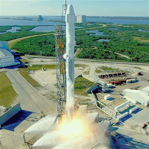 Liftoff! SpaceX CRS-13 Launches to Space Station