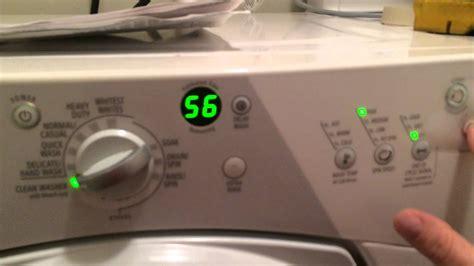 whirlpool washer duet error sport codes