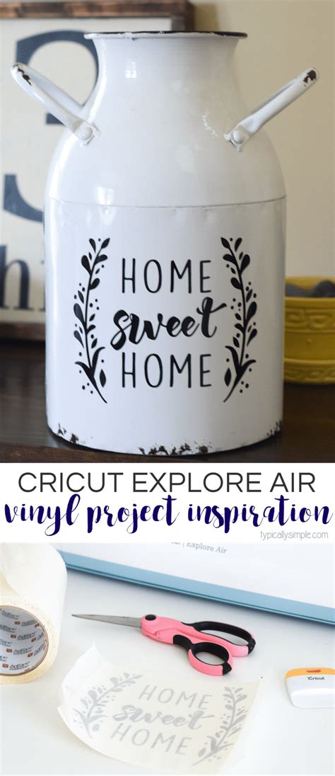cricut project inspiration  vinyl typically simple