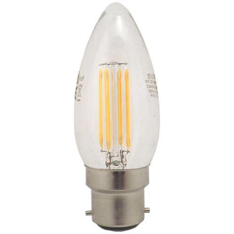 integral 976890 5 6 watt dimmable led candle light bulb