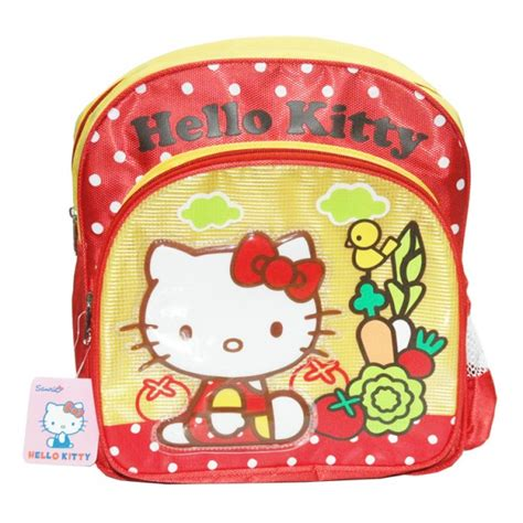 hello kitty toddler backpack yellow sansan wawa indonesia 440 | hello kitty toddler backpack