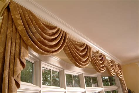 Custom Made Drapery by Custom Valances By Galaxy Draperies Los Angeles Ca