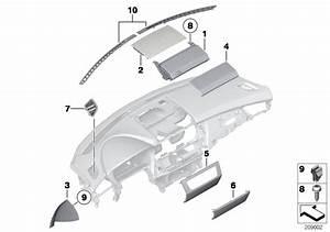 Bmw Z4 Trim For Radio On Instr Panel Centre  Mounting