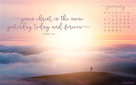 January 2019 - Sunrise Desktop Calendar- Free January ...