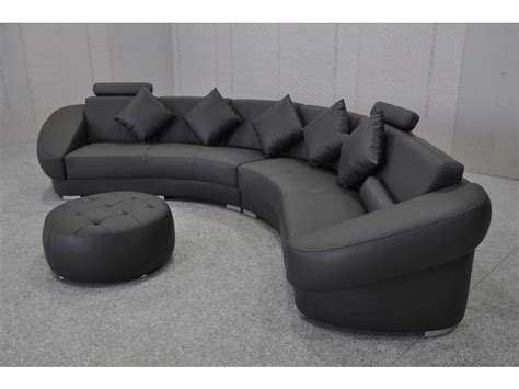canap demi cercle canaps ronds design affordable design moderne led htel