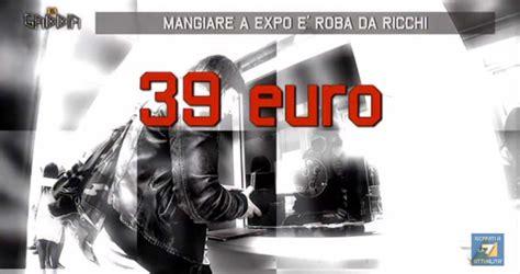 Biglietto Ingresso Expo by Expo 2015 Critiche Food Mcdonald S La Gabbia