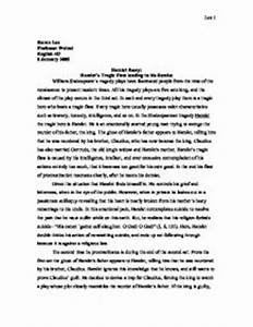 English Essay Hamlet Analysis Essay Topics Examples What Is An Essay Thesis also Essays Written By High School Students Hamlet Analysis Essay Open University Essays For Sale Hamlet  From Thesis To Essay Writing