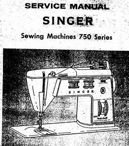 Oem Singer Manual For The 700 Series