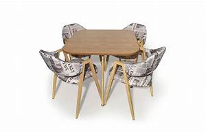 Table Et Chaises Scandinaves : table et chaises scandinaves style journal ~ Teatrodelosmanantiales.com Idées de Décoration